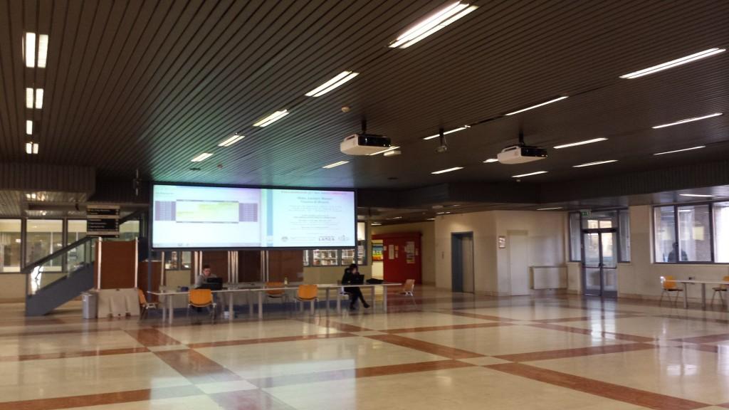 Hall Università di Brescia